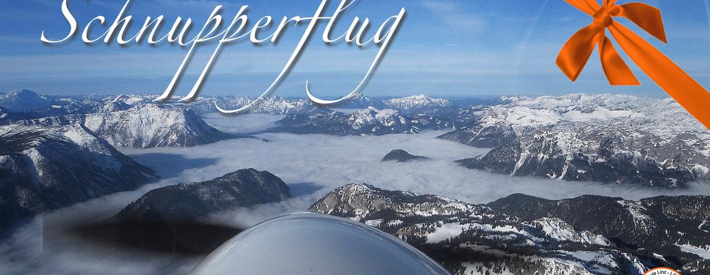 Schnupperflug Geschenk ab EUR 140,-