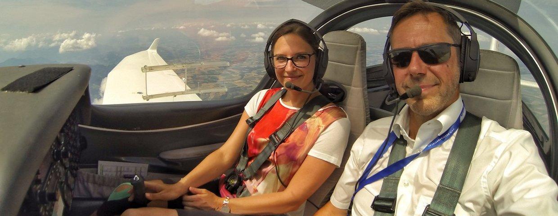 Schnupperflug ab EUR 140,-!