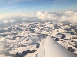 Fliegen im Winter!